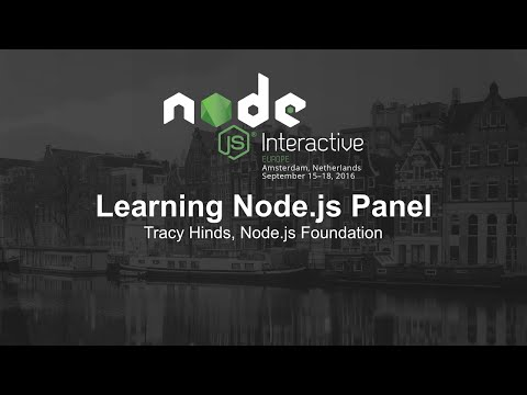 Learning Node.js Panel
