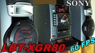 SONY LBT-XGR80 HI-FI STEREO SYSTEM - 60 FPS