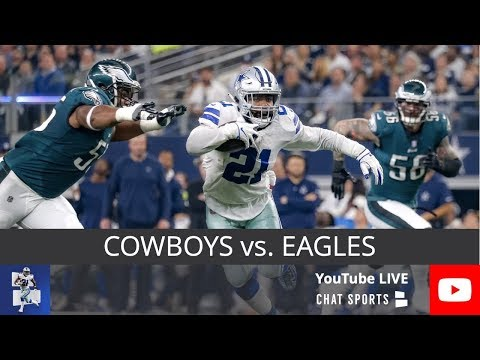 Cowboys Vs. Eagles Live Stream Reaction & Updates On Highlights For NFL Sunday Night Football Week 7