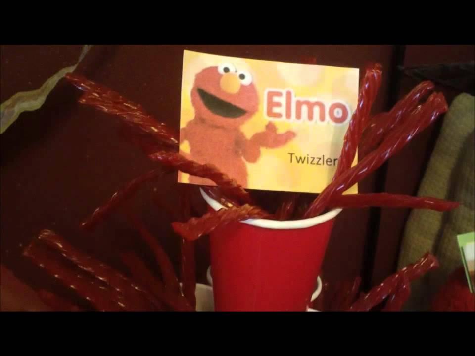 2nd Birthday Party Clips Elmo Theme