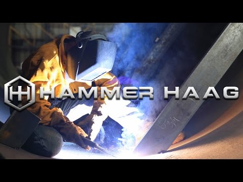 Large Scale Precision Steel Fabrications - The Hammer Haag Profile