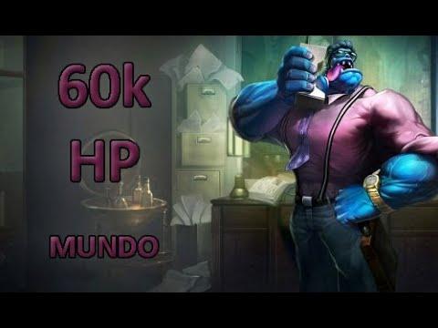 60K Health Dr.Mundo + Weird minion bug