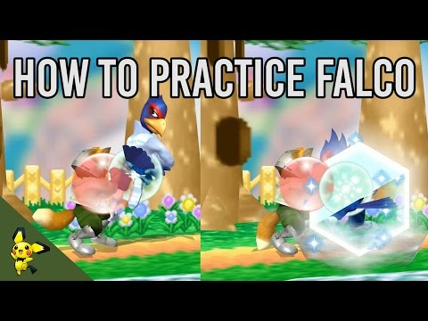 How To Practice Falco - Super Smash Bros. Melee
