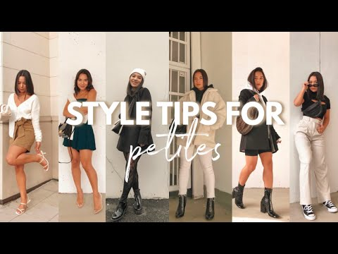 STYLE TIPS FOR PETITES PART 2   Style tips for women 5ft and under!