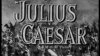 Julius Caesar (1953) - Theatrical Trailer