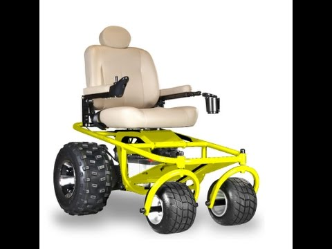 Power Wheelchair Beach Wheelchair All Terrain Power