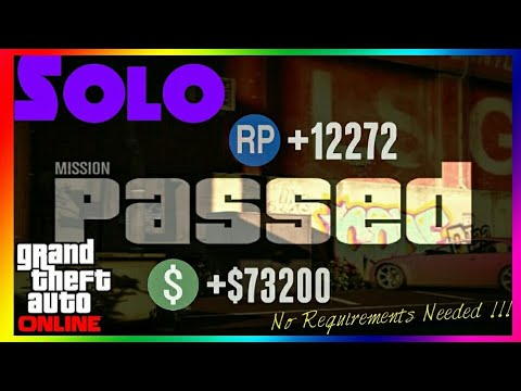 GTA Online The EASIEST SOLO Mission | GTA 5 Online EASY SOLO Missions [PS4, X1, PC]