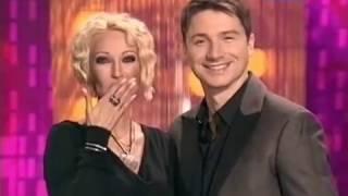 Сергей Лазарев и Лера Кудрявцева в шоу Ты и Я 24 04 2010г
