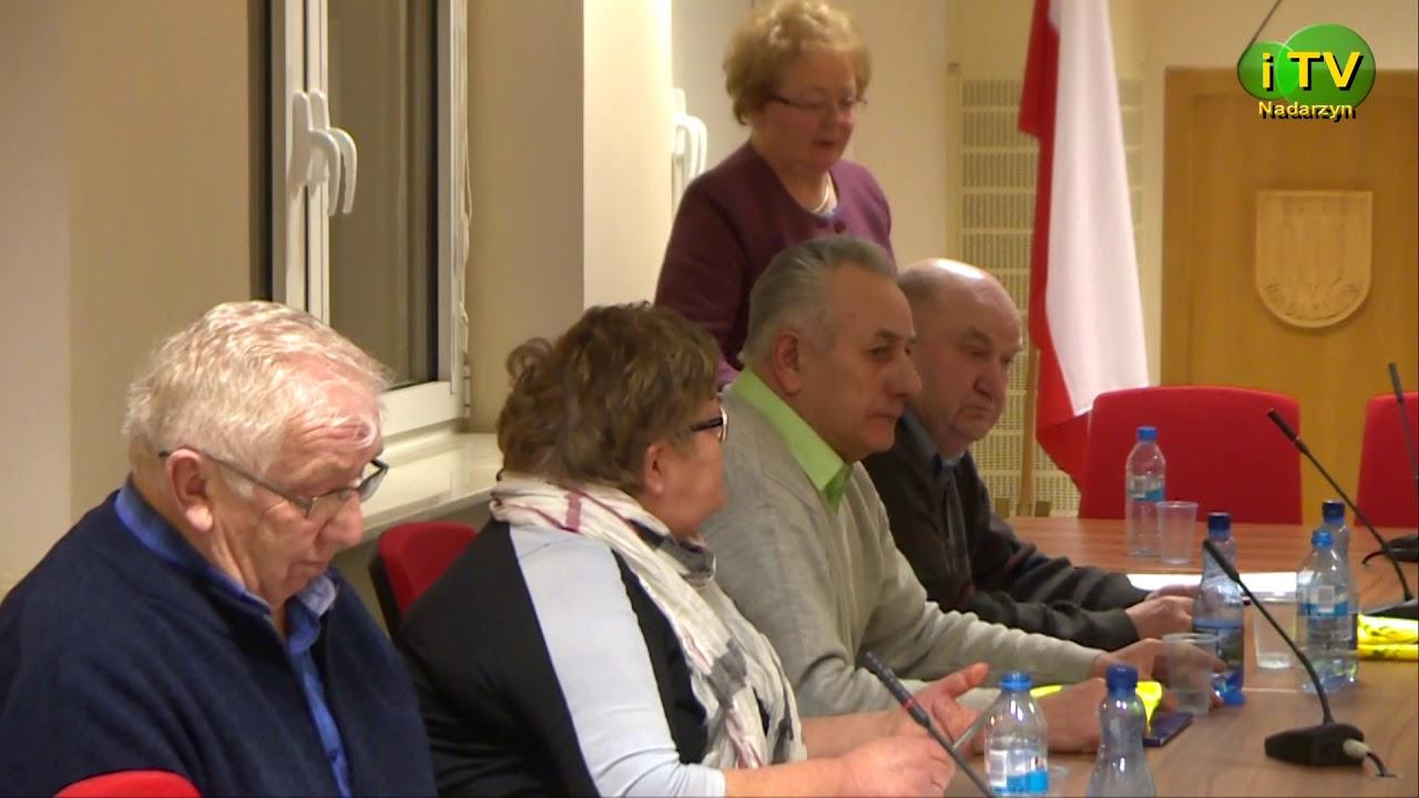Sesja Rady Seniorów (29.01.18)