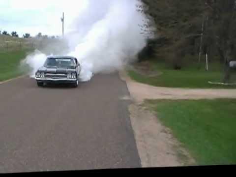 Jason Stevens 1968 CHEVELLE THE DUKE BURN OUT HD.wmv