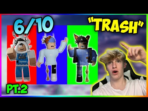 Rating My Subscriber S Roblox Outfits Youtube