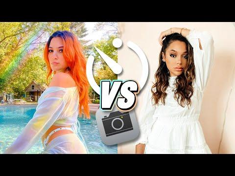 Self Timer Photoshoot Challenge: Sister VS Sister