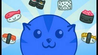 ч.01  Играем в игру Суши кот =3