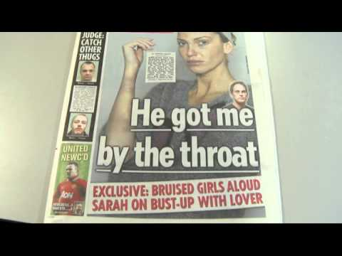 Girls Aloud's Sarah Harding speaks out on boyfriend assault