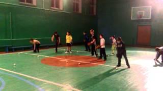 Бейсбол. Тренировка в Монино 16.01.2013