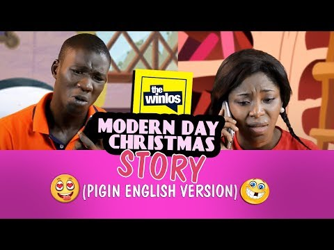 MODERN DAY CHRISTMAS STORY (IN PIGIN ENGLISH)