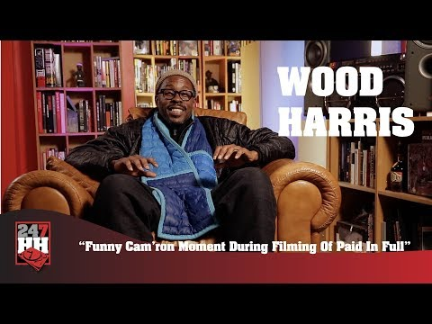 Wood Harris  Funny Cam'ron Moment During Filming Of Paid In Full 247HH Exclusive