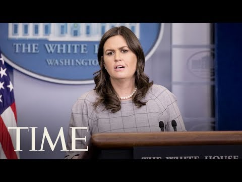 White House Press Briefing Following President Trump's Tweets Against James Comey | LIVE | TIME