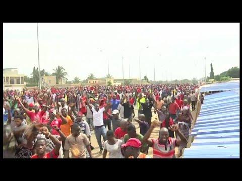 Togo, RÉACTIONS APRÈS LA MANIFESTATION