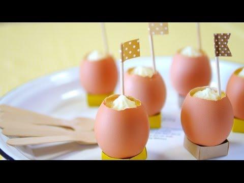 """なんちゃって卵プリン(ほんとは茶碗蒸し)Egg-Pudding-like """"Chawanmushi"""""""
