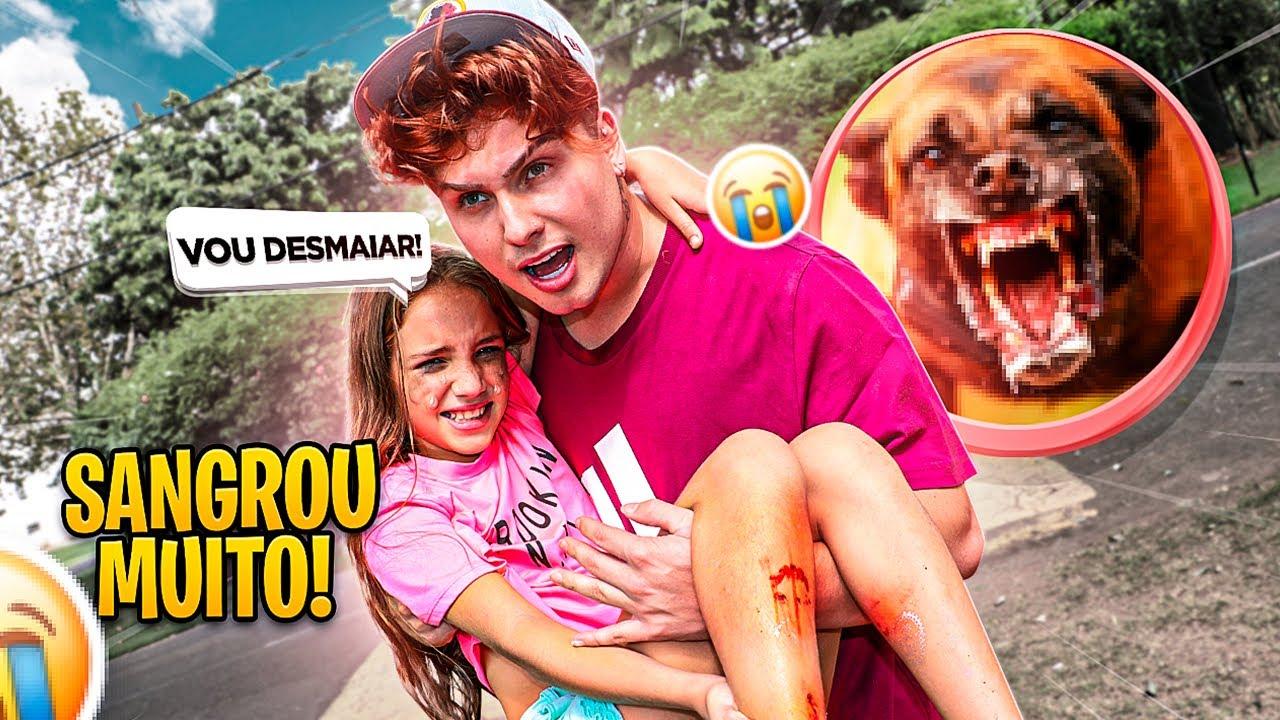 Download UM CACHORRO ATACOU MINHA FILHA E SANGROU MUITOOO!!