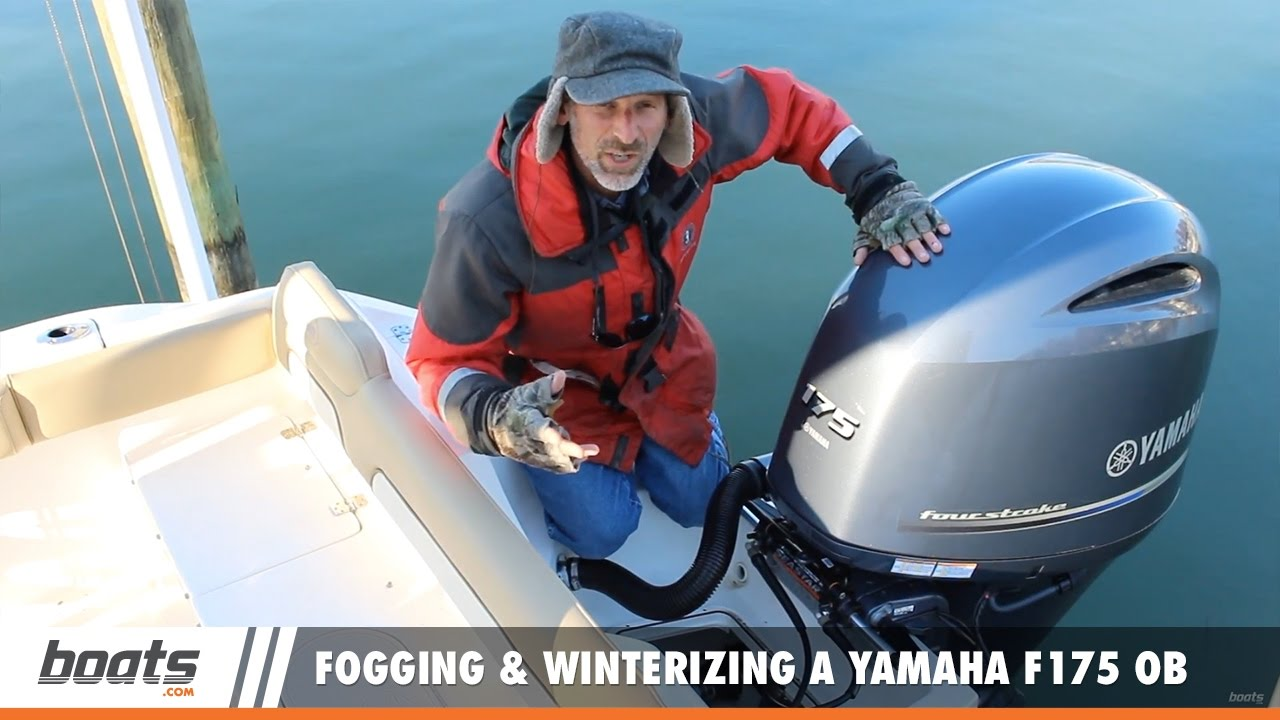 Fogging And Winterizing A Yamaha F175 Efi Outboard It 39 S