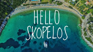 Hello Skopelos | STUNNING GREEN ISLAND IN GREECE