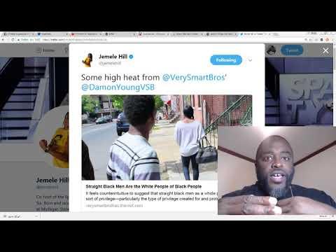"Jemele Hill cosigns ""straight black men are the white people of black people"" rhetoric"