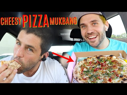 CHEESY PIZZA TASTE TEST with JOSH PECK and UGH ITS JOE!!