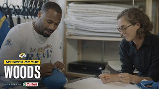 Robert Woods Puts His Old Jerseys To Good Use | My Neck of the Woods Ep. 3