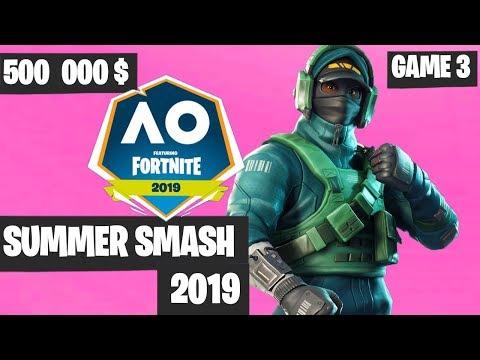 Fortnite Summer Smash Game 3 Highlights - Fortnite Australian Open [Fortnite Tournament 2019]