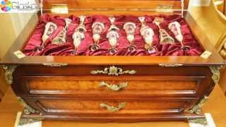 Набор серебряных столовых принадлежностей