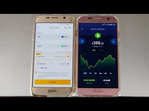 How to Buy Cryptocurrency on Mobile for Beginners – Bitcoin, Bitcoin Cash, Ethereum, XRP, Dash…