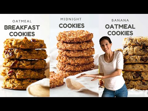 3 Healthy Oatmeal Cookies To Sweeten Your Day