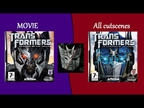 Transformers: ROTF NDS Games All cutscenes (Autobots/Decepticons)