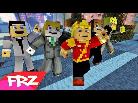 "♫""MINECRAFT FUNK"" A Minecraft Parody Song Of Bruno Mars Uptown Funk (Music Video)"