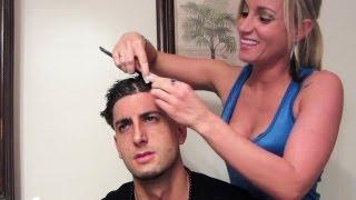 girlfriend does boyfriends hair