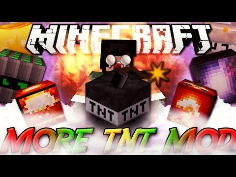 Minecraft ITA - Mod: DISTRUGGERE UN INTERO BIOMA - Bomba Atomica, C4, Napalm, Supernova