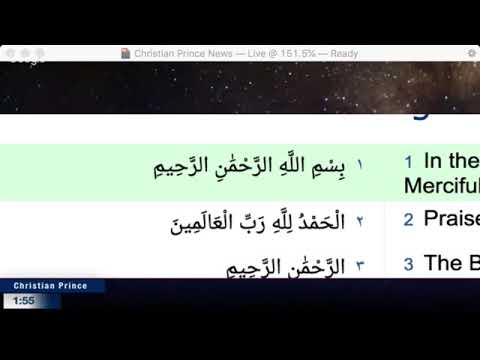 10 Facta Mengenai Allah 10 Facts About Allah 29/3/2019 Christian Prince