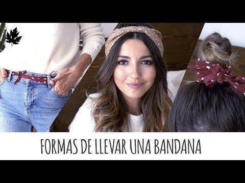 FORMAS DE LLEVAR UNA BANDANA | ALEXANDRA PEREIRA