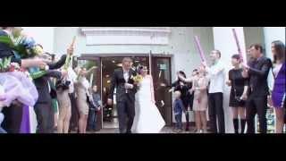 Прикольный свадебный клип c мотоциклами!!!!