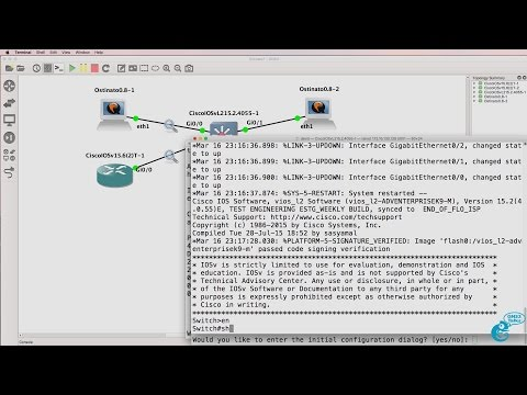 GNS3 Talks: Ostinato Packet Generator - what happens to Unknown Unicast traffic? (Ostinato Part 2)
