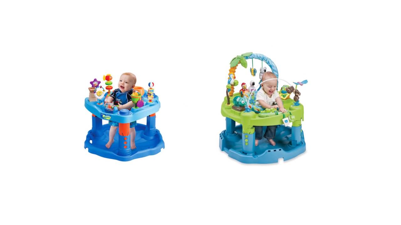 e86936702c64 Evenflo ExerSaucer Triple Fun - Find Best Exersaucer for baby - YouTube