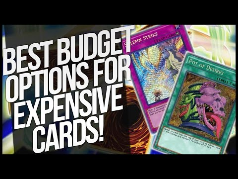 Budget Options for Expensive Cards!