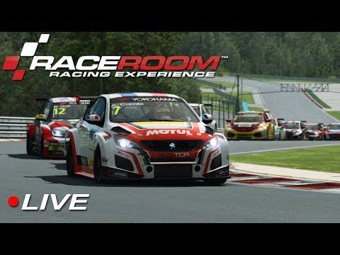 RaceRoom WTCR esports Div 3 Round 1 - Hungaroring | Live