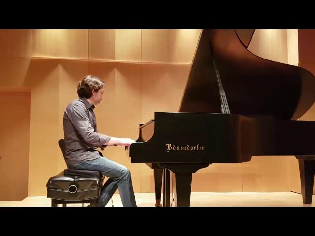 Stephane joue Chopin  | Studio de piano Tristan lauber