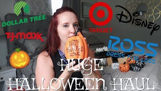Halloween 2018 Haul | HUGE! 5 Different Stores!