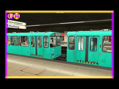 [Trainz] UF14 Release (U-Bahn Frankfurt)