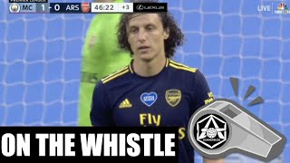 On the Whistle: Man City 30 Arsenal  'No New Normal'