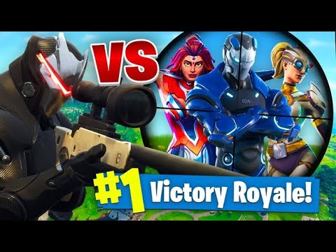 The SUPER VILLAIN CHALLENGE In Fortnite Battle Royale!